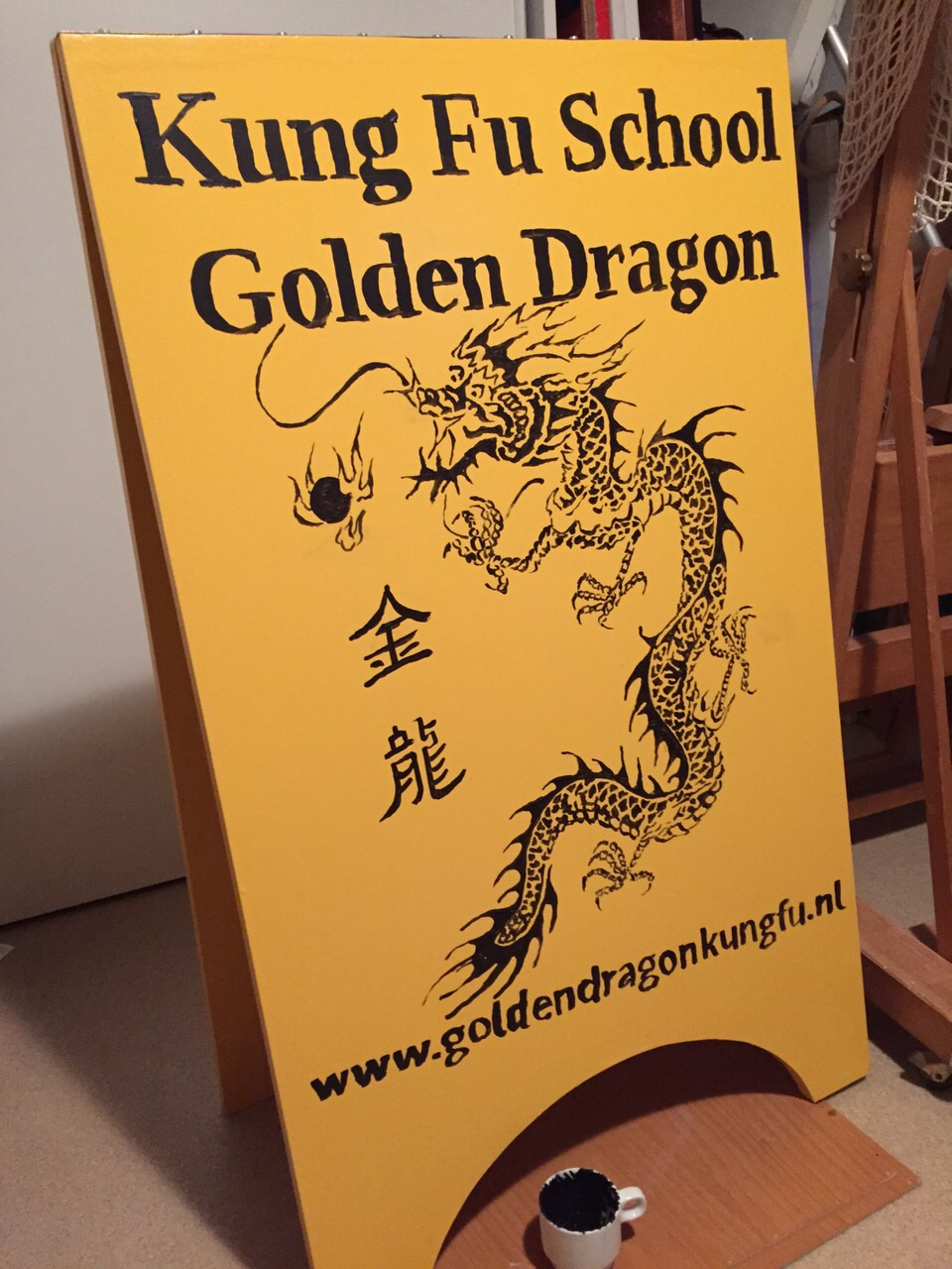 Golden Dragon bord