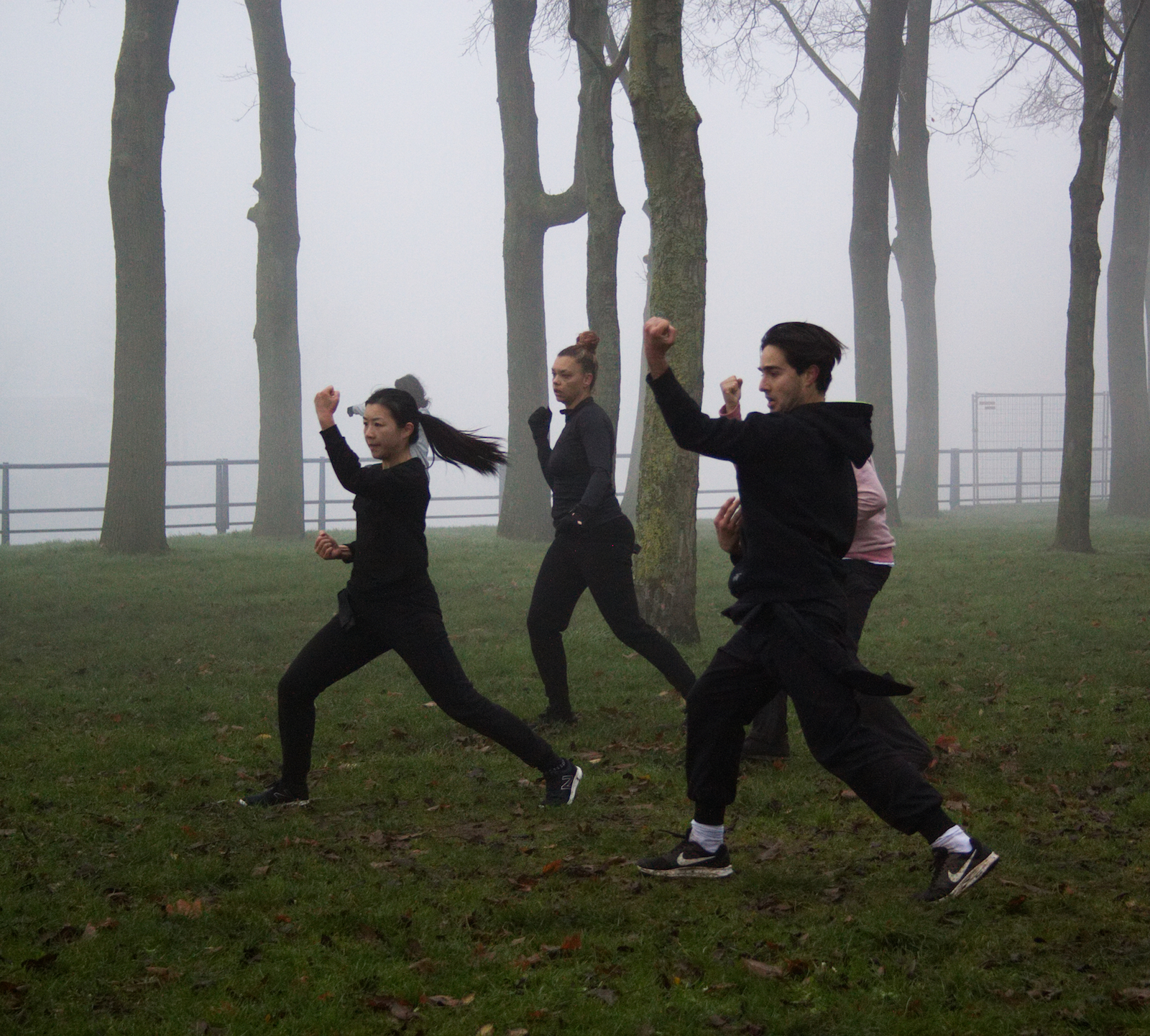 kung fu training winter 2017 sloterplas